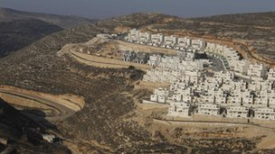 Jewish settlement of Givat Zeev, near Jerusalem (19 December 2011)