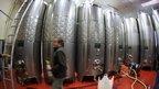 Steel wine barrels; picture: Yannick Ducret