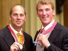 Sir Steve Redgrave and Matthew Pinsent