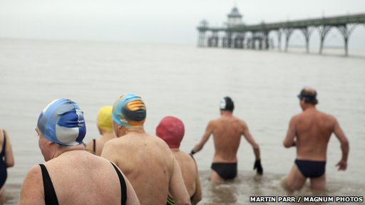 Cold water swimmers