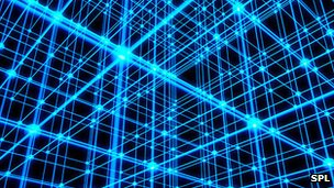 Simulation of 'optical lattice'