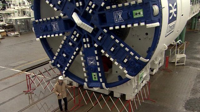 Crossrail&#039;s tunnelling machines