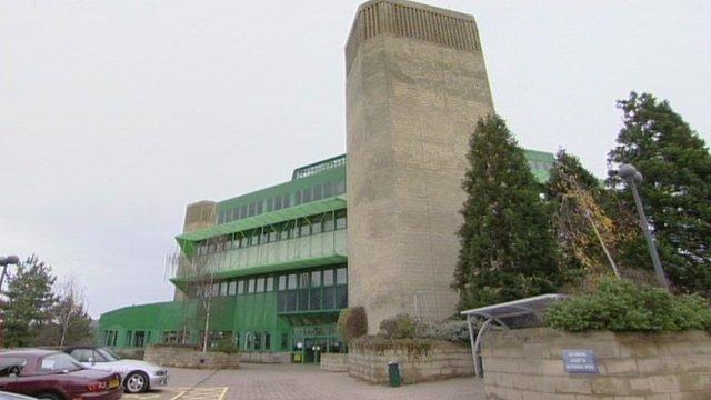 GCHQ's Oakley site in Cheltenham