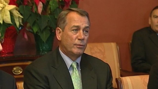House Republican Speaker John Boehner