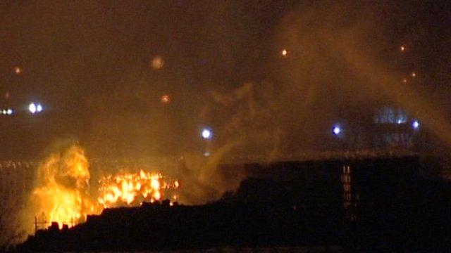 Fire at Lancashire Enterprise Business Park