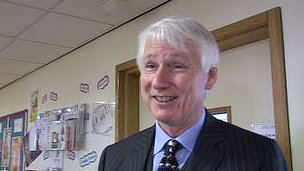 Jersey's Bailiff Michael Birt
