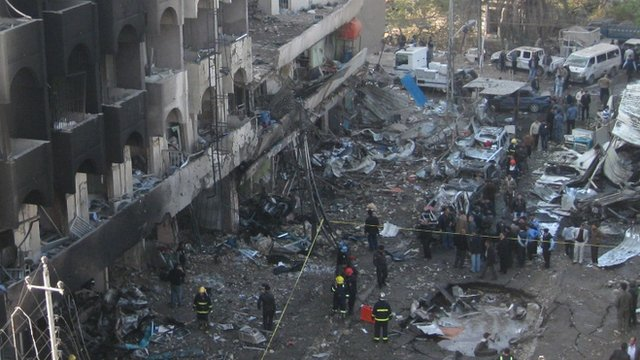 Karrada bomb aftermath