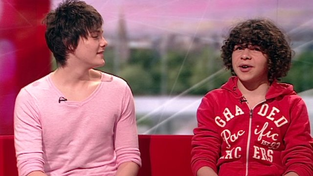 Tyger Drew-Honey and Daniel Roche