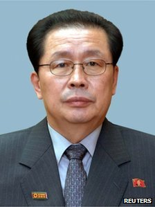 Chang Song-taek, brother-in-law of former leader Kim Jong-il and uncle of new leader Kim Jong-un, is seen in this undated picture released by North Korea's official news agency KCNA on 9 June 2010