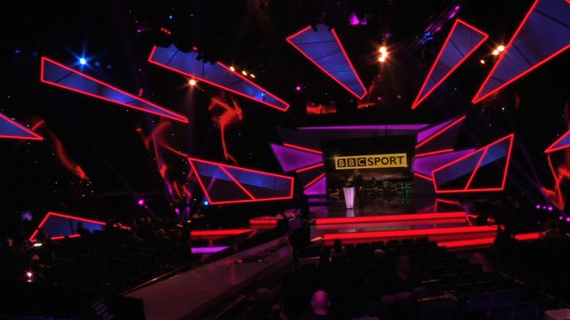 Behind the scenes at Sports Personality