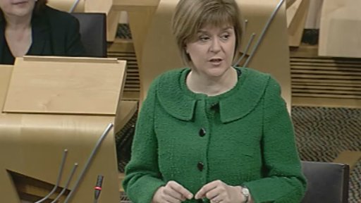 Health Secretary Nicola Sturgeon leads a debate on the UK Welfare Reform Bill
