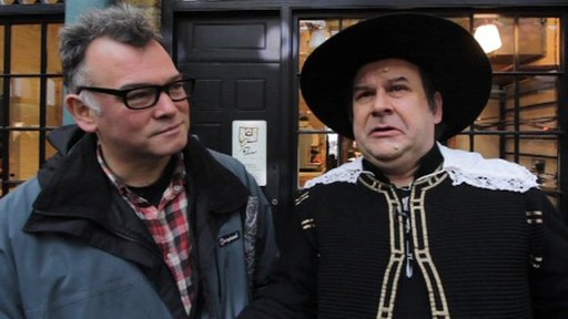 Stewart Lee and Cromwell