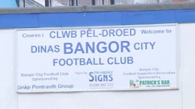 Bangor City sign at Farrar Road