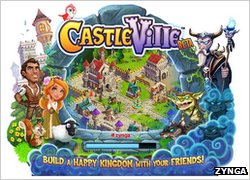 Castleville start-up screen