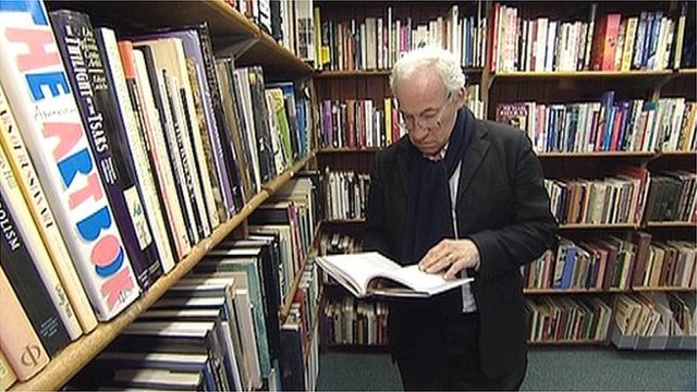 Simon Callow in Westminster Reference Library