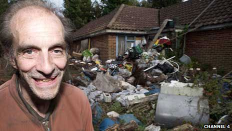 Richard Wallace of Channel 4's Obsessive Compulsive Hoarder