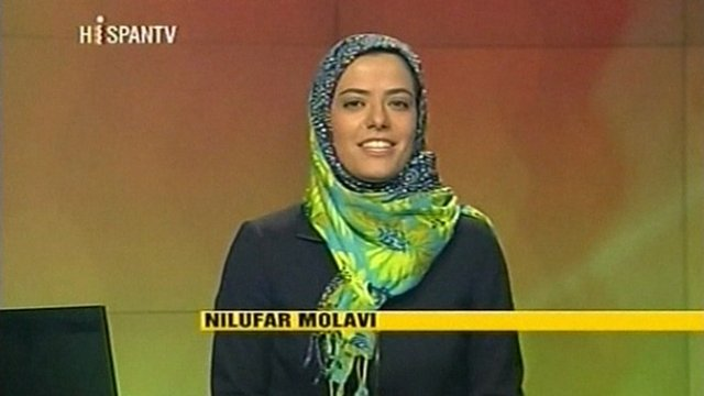 Hispan TV presenter.