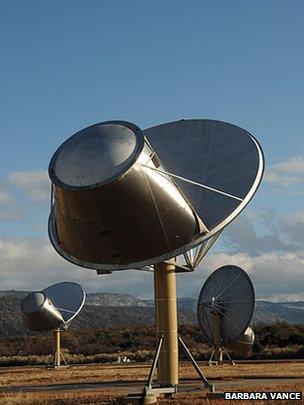 Allen Telescope Array dish (Barbara Vance)