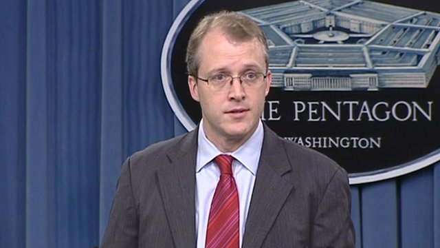 Pentagon spokesman George Little