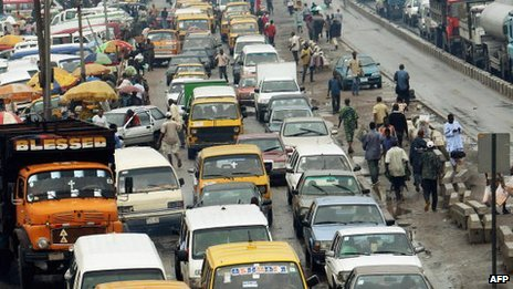Lagos traffic (Archive shot)