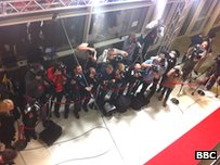 Photographers on the red carpet