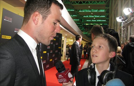 School Reporter interviews Mark Cavendish