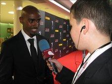 School Reporter Jack interviews Mo Farah