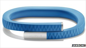 The UP wristband from Jawbone