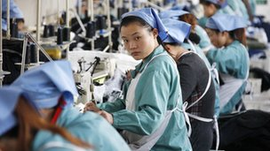 Workers in Hubei province