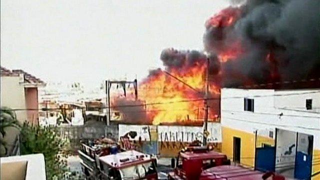 Sao Paulo fire
