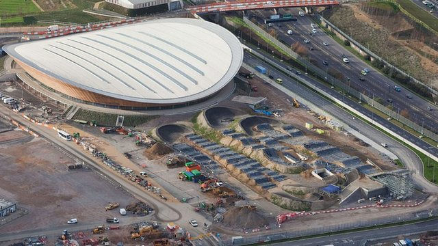 Watch The London Olympic Park 2012 Being Constructed (VIDEO)
