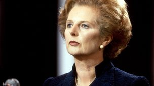 Margaret Thatcher in 1981