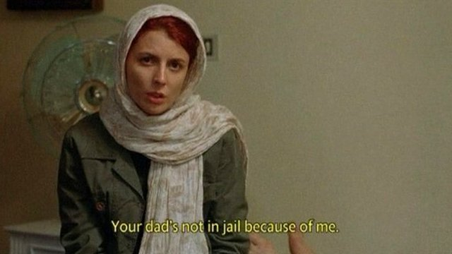 "Leila Hatami, who plays Simin in ""A Separation""."