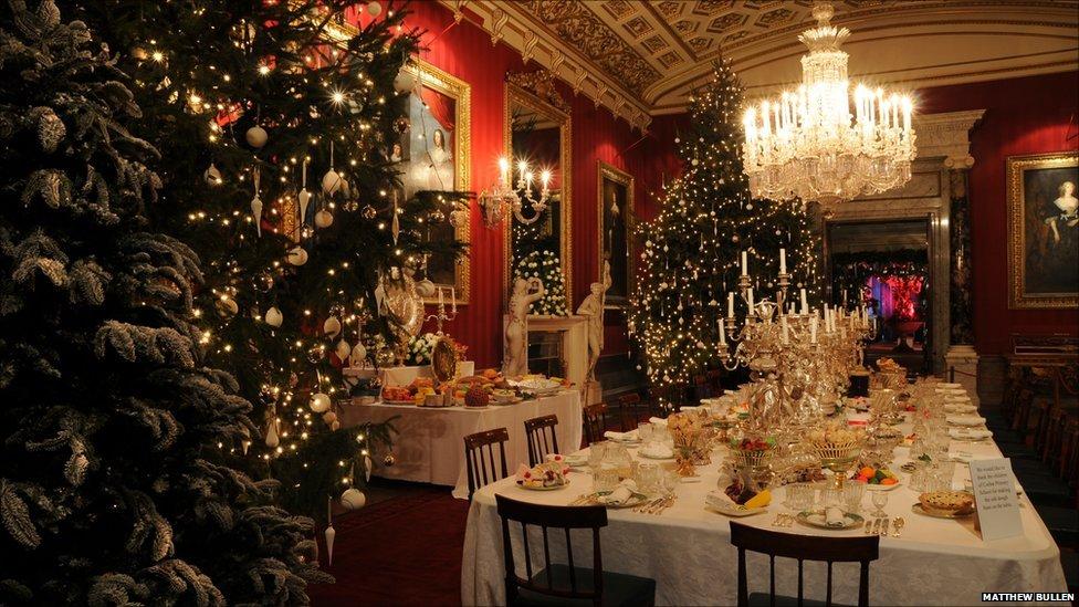 BBC News Chatsworth Houses Deck The Halls Christmas