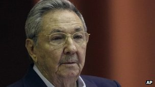 Cuban President Raul Castro. Photo: 23 December 2011