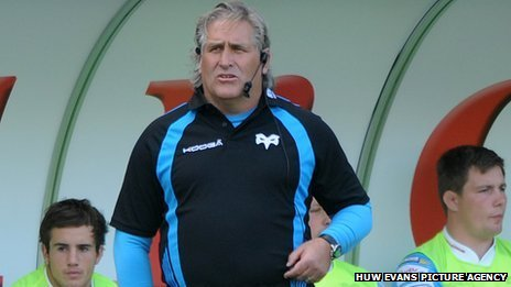 Scott Johnson at the Ospreys