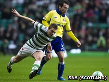 James Forrest and Garry Hay