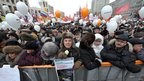 Protesters on Sakharov Avenue in central Moscow, 24 December (image from Anton Tushin/Ridus.ru)