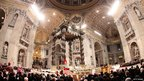 Christmas Eve Mass at St Peter's Basilica, 24 December