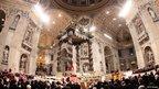 Christmas Eve Mass at St Peter's Basilica, 24 December