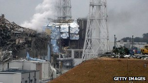 Damage at Fukushima plant (file photo)