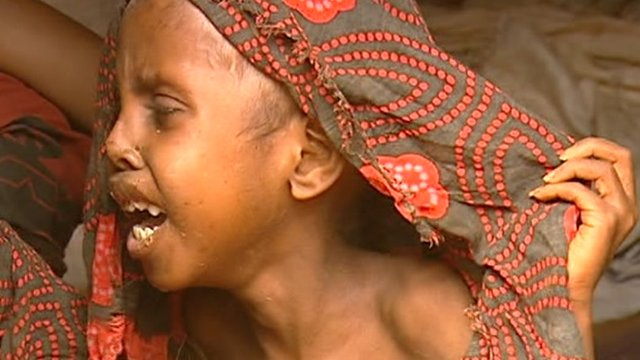 Child in East Africa