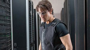 Tom Cruise in Mission: Impossible - Ghost Protocol