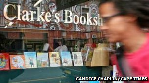 The bookshop (pic: Candice Chaplin/Cape Times)