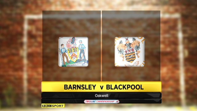Highlights - Barnsley 1-3 Blackpool