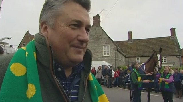 "Kauto Star's trainer Paul Nicholls said he was ""a horse of a lifetime"""