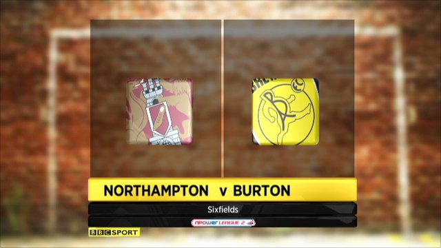 Northampton 2-3 Burton Albion
