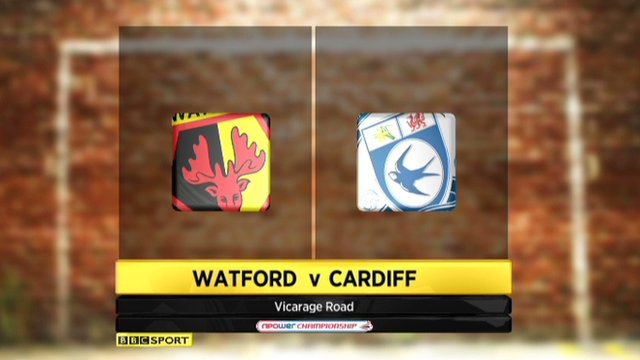 Highlights - Watford 1-1 Cardiff
