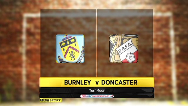 Highlights - Burnley 3-0 Doncaster