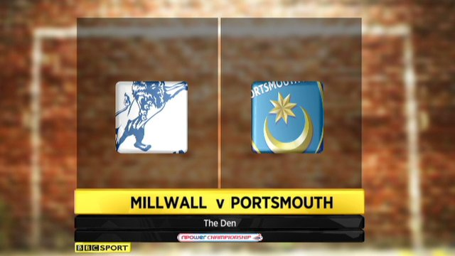 Highlights - Millwall 1-0 Portsmouth